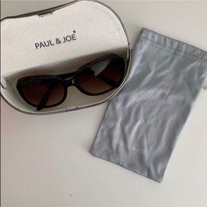 PAUL & JOE Tortoise Sunglasses
